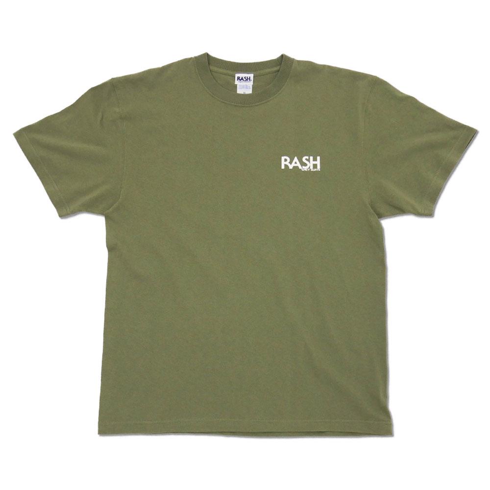 2021 RASH 羽バックTee 6.0oz