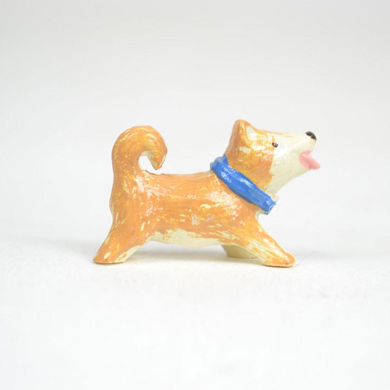 タイニーワールド 柴犬 ミニチュア 置物 犬 動物