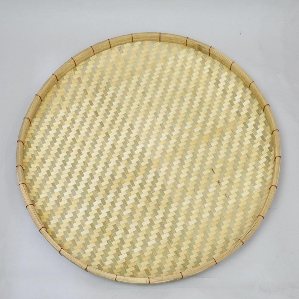あじろ編み 竹 干しざる Lサイズ 皮竹材料 竹製 大きめサイズ 自家製なら安心 手作り 梅干し 野菜 海産物 天日干し 竹ざる 干物づくり 梅仕事に 魚の干物 通気性 丈夫 エコ 自然素材 ナチュラル 清潔 おやつ ベトナム製 内半皮