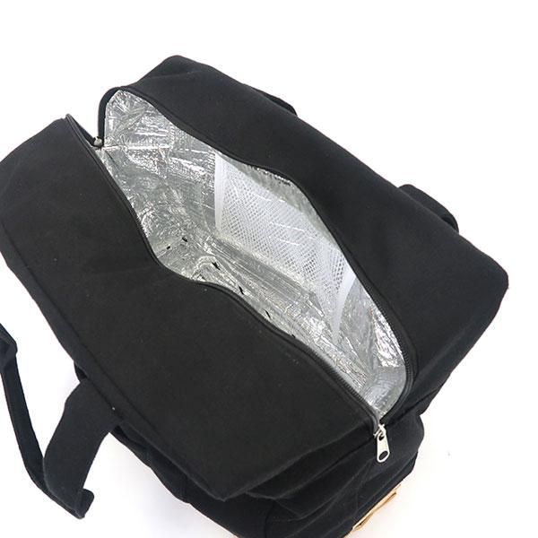 柳 保冷付 ランチバッグ L  ピクニック 保冷バッグ エコ