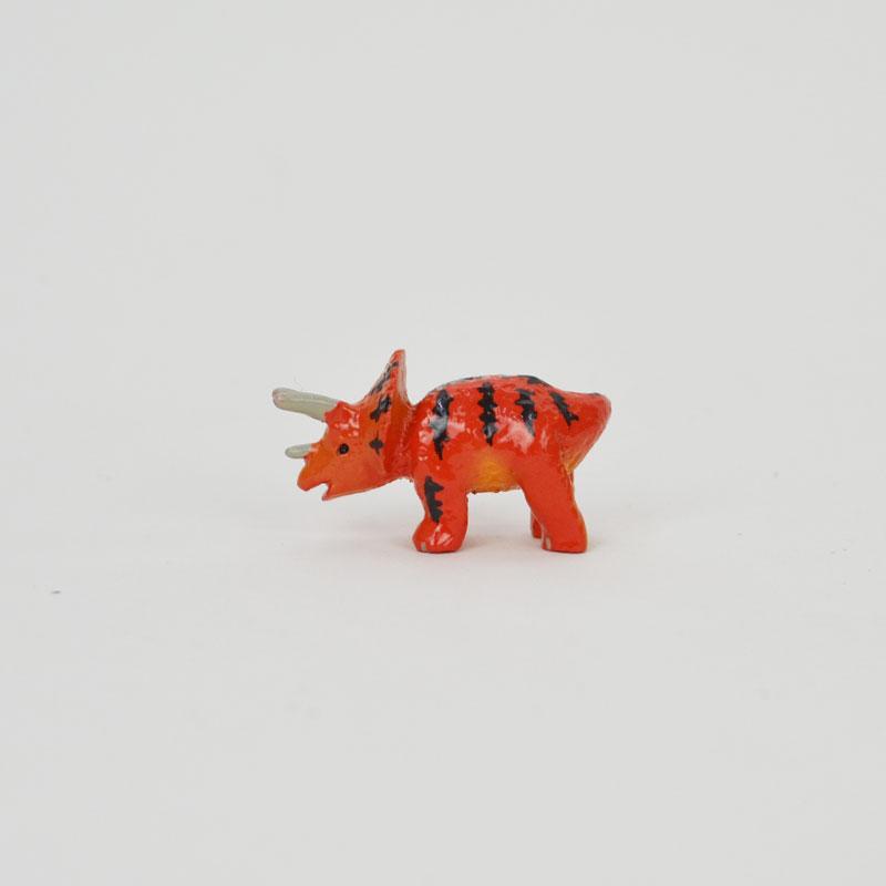 タイニーワールド トリケラトプス ミニチュア 恐竜