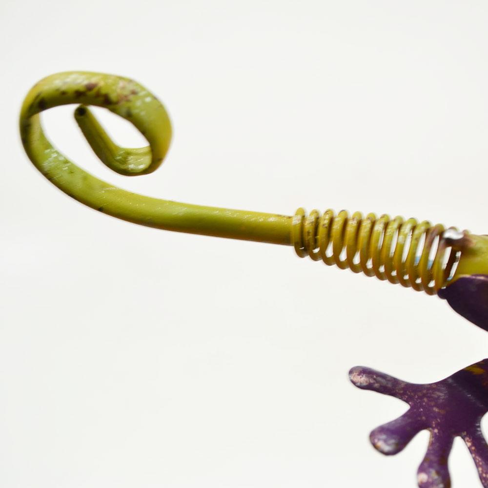 カラフルブリキ エリマキトカゲ Sサイズ カラーブリキ