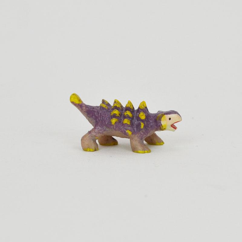 タイニーワールド アンキロサウルス ミニチュア 恐竜