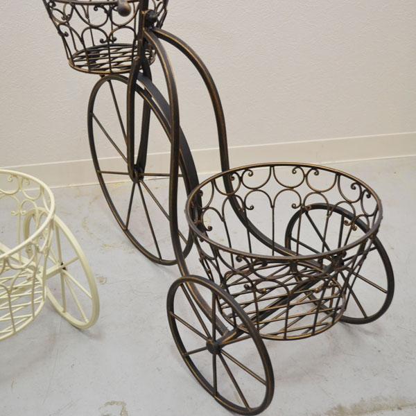 アイアントライシクル ガーデニング 雑貨 自転車 プランター