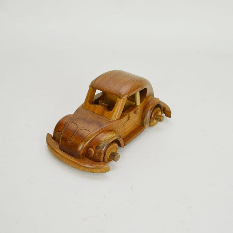 ウッドビークル 001 木製 乗り物 車 おもちゃ チーク