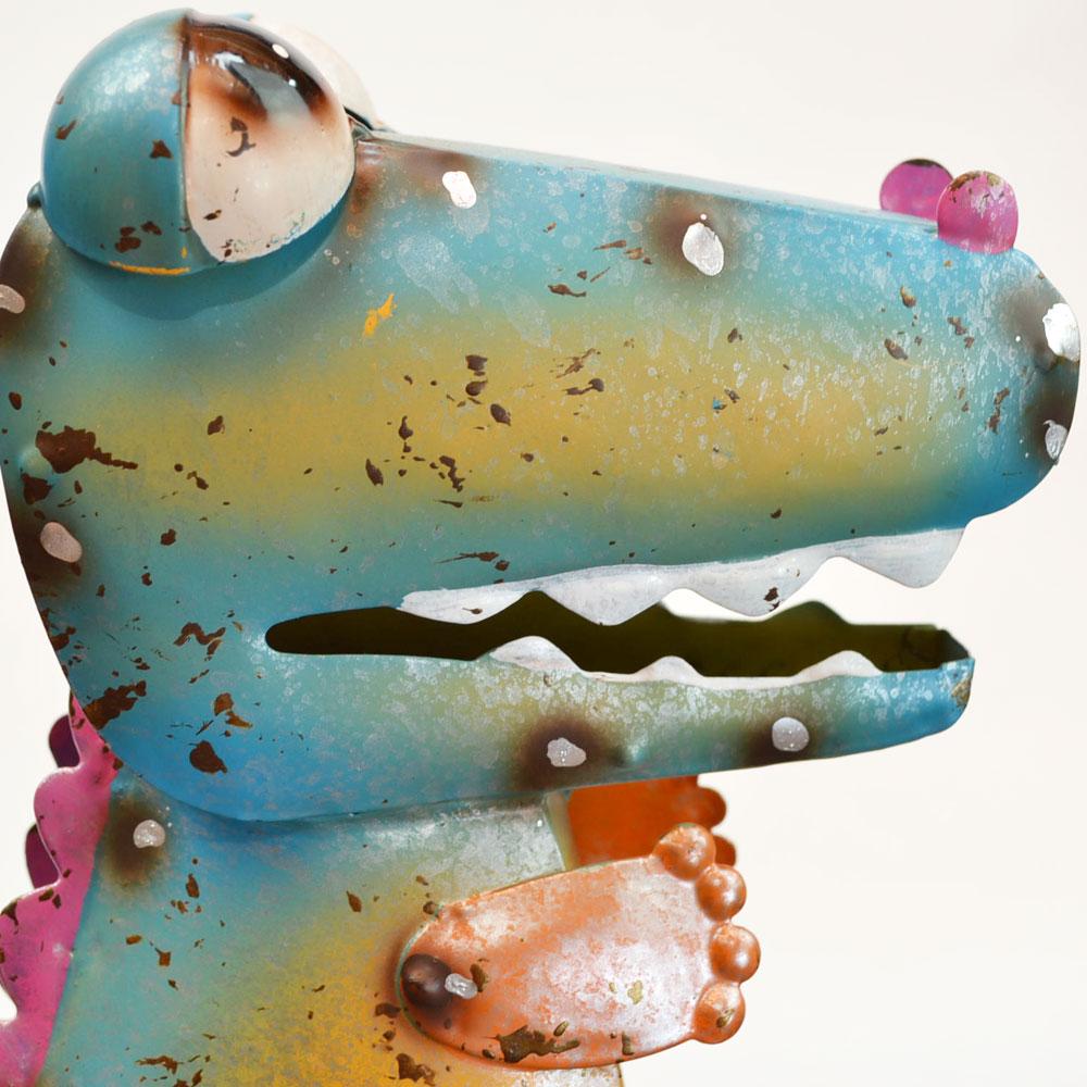 カラフルブリキ 恐竜 カラーブリキ インテリア ガーデン