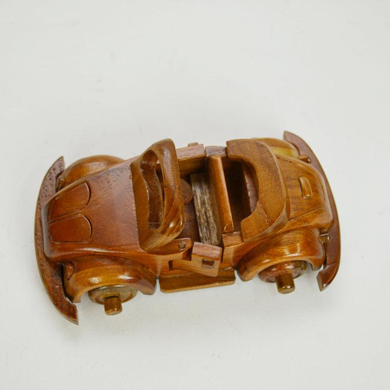 ウッドビークル 002 木製 乗り物 車 おもちゃ オープン