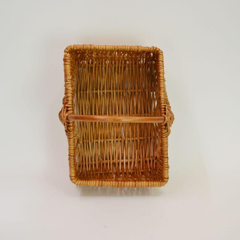 煮柳ピクニックバスケット かご カゴ 天然素材 小物収納