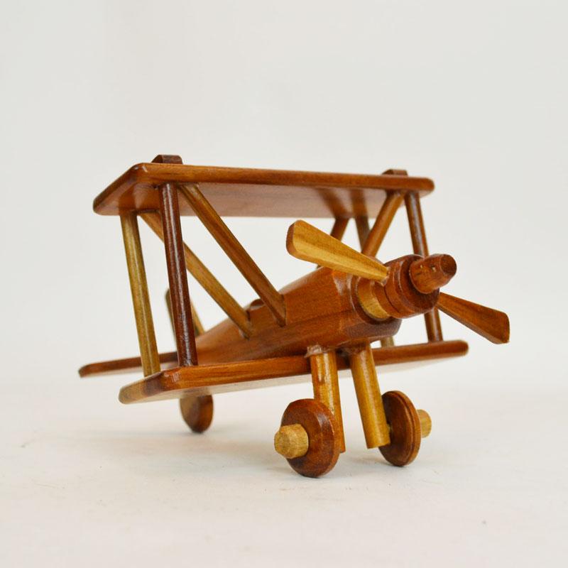 ウッドビークル 飛行機 木製 乗り物 車 おもちゃ 木の車