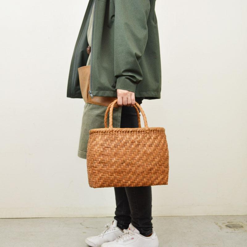 高級素材 山葡萄バッグ 麓 鞄 かごバッグ