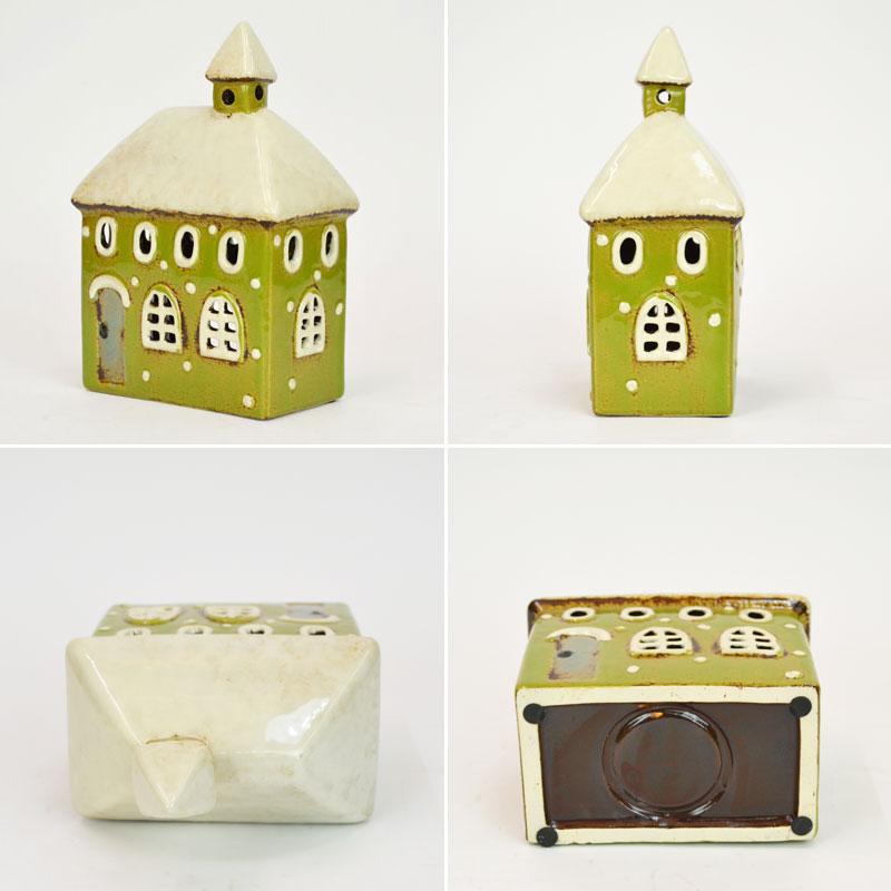 キャンドルハウス I2 陶器 スノーハウス 北欧 クリスマス