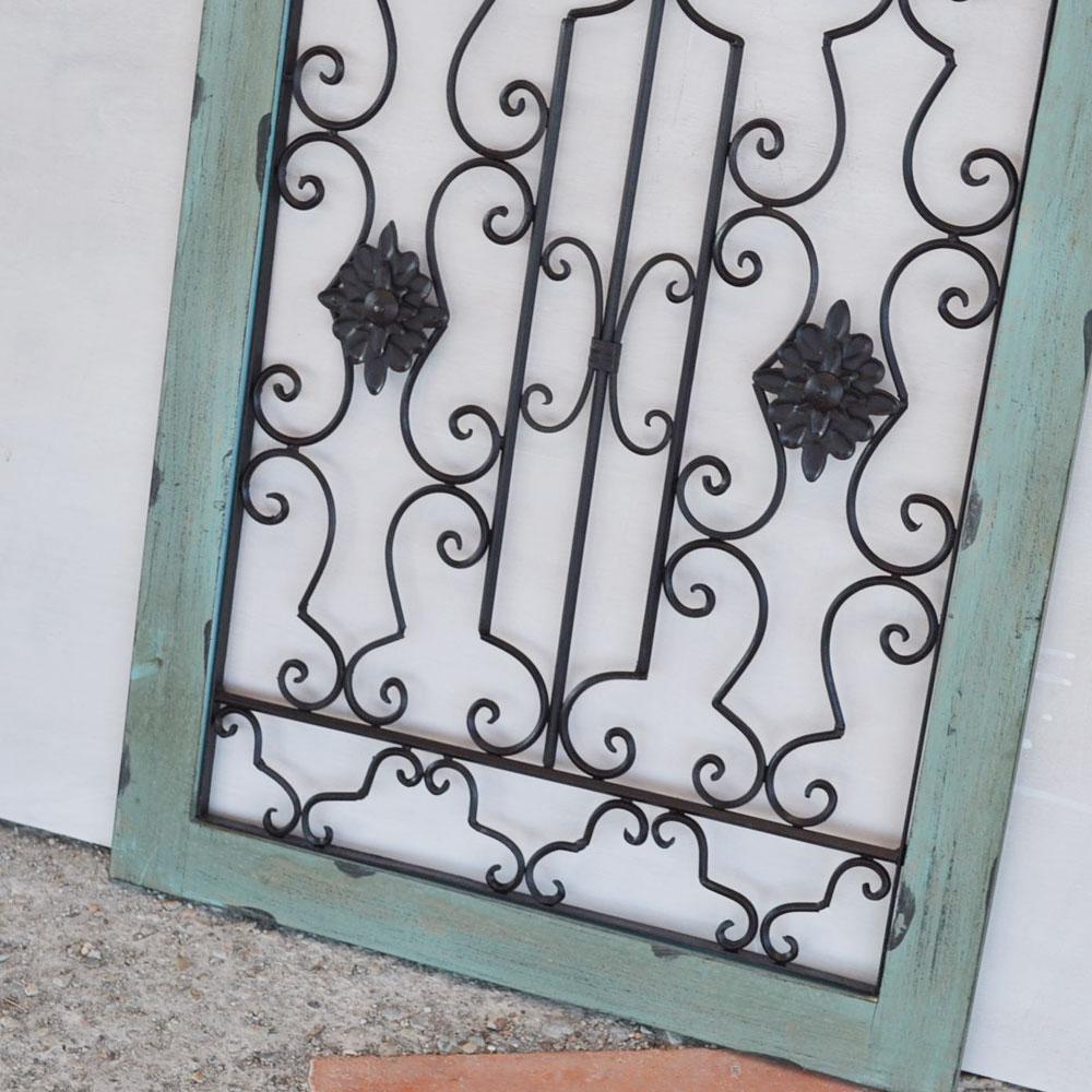 ウォールデコレーション アーチ型  窓枠 アンティーク風 アイアン ウッド インテリア ハンディクラフト 木製 ウィンドフレーム オシャレな雰囲気を演出 壁飾り インテリア雑貨 ディスプレイ お洒落 ガーデン