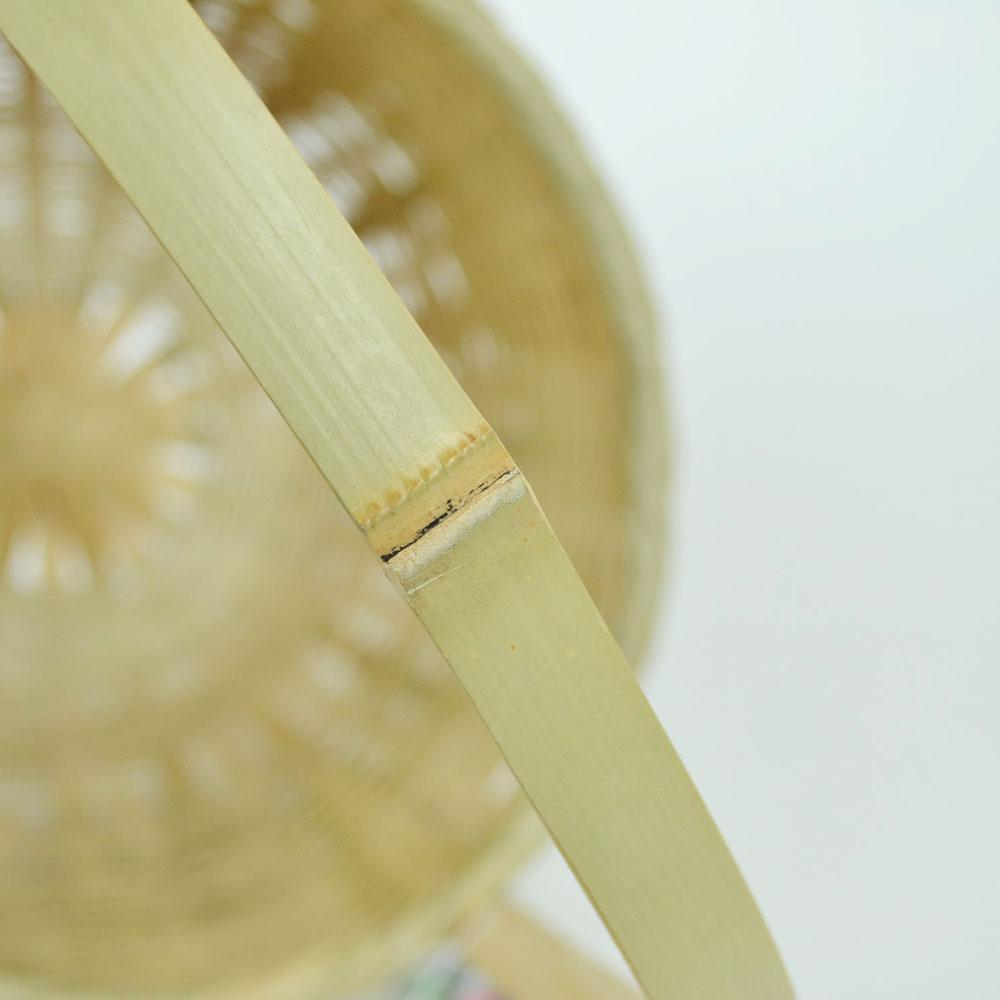 日本のもの 温泉かご 持ち手付 真竹  中   日本製 湯かご 竹 職人 和道具 暮らし道具 和 手作り 味わい 国産 キッチン プレゼント ギフト 丁寧 編み 収納 かご 入浴用の小物入れ 竹籠 銭湯 温泉 人気 オシャレ 竹雑貨