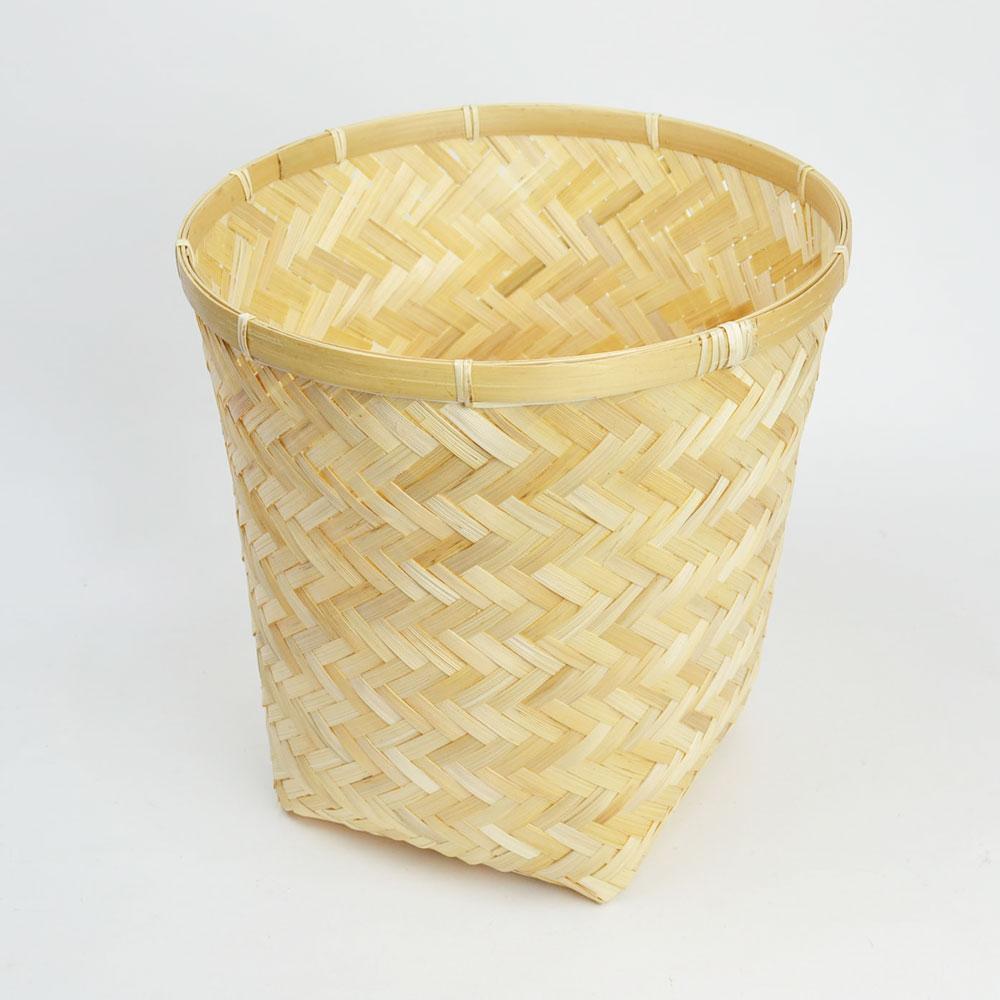 竹 かご スクエア バンブー 小物収納 ナチュラル 和 軽