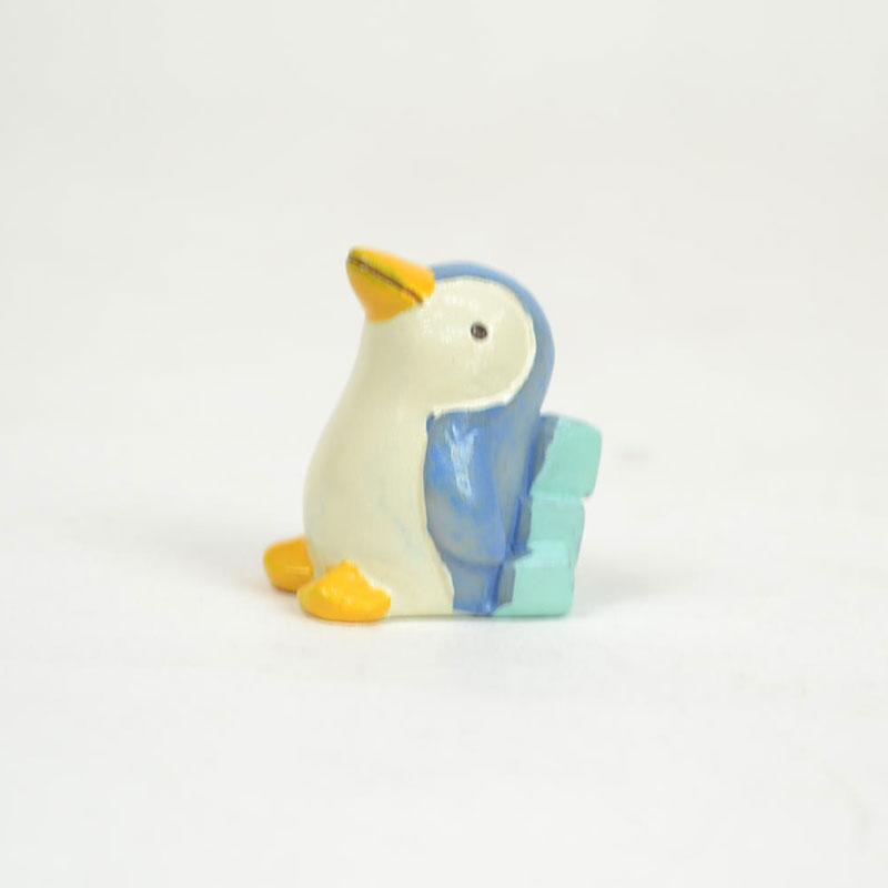 タイニーワールド ペンギンBL ミニチュア 置物 魚