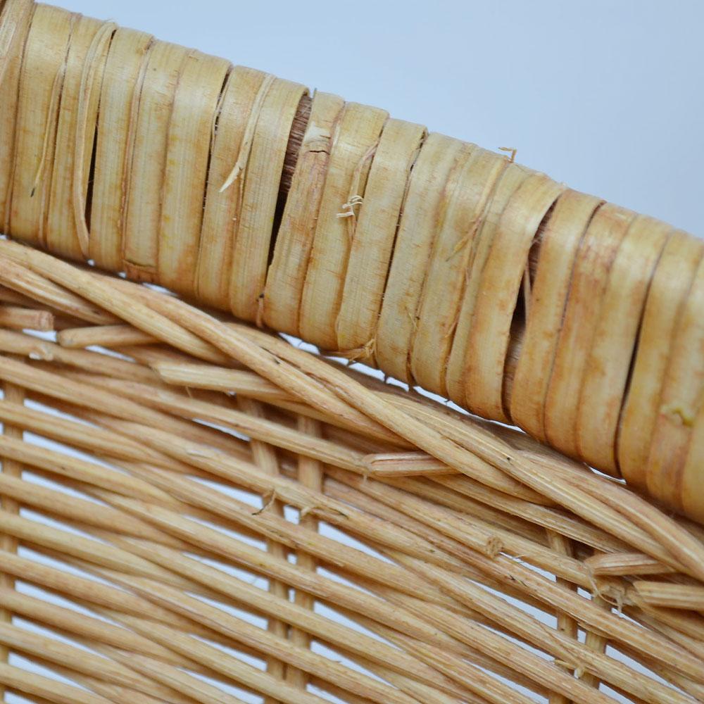 ラタン 丸かご Sサイズ 籐 ベトナム製 小物収納  カゴ