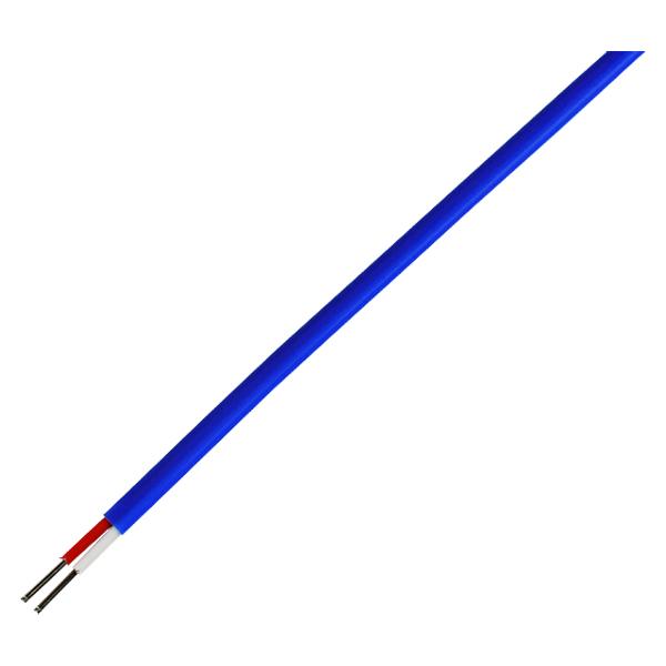 K φ0.2 フッ素樹脂(テフロン)被覆熱電対線(K-6F)