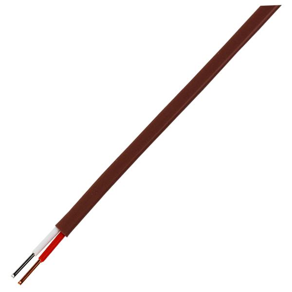 T φ0.1 フッ素樹脂(テフロン)被覆熱電対線(T-6F)