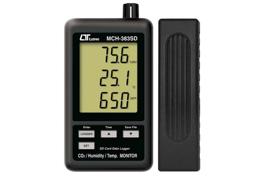 MCH-383SD デジタル温湿度・CO2計