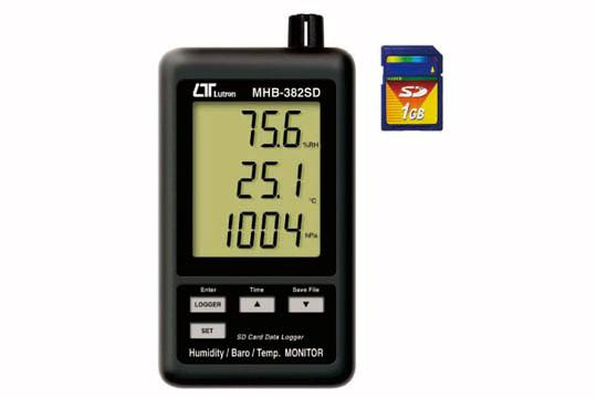 MHB-382SD デジタル温湿度・気圧計