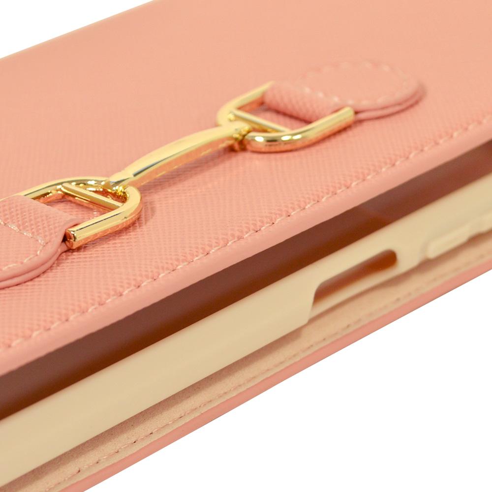 ラスタバナナ Xiaomi Redmi Note 9T 5G ケース カバー 手帳型 viviana ビット付き サフィアーノ ピンク シャオミ レッドミーノート スマホケース 6097REDN9TBO