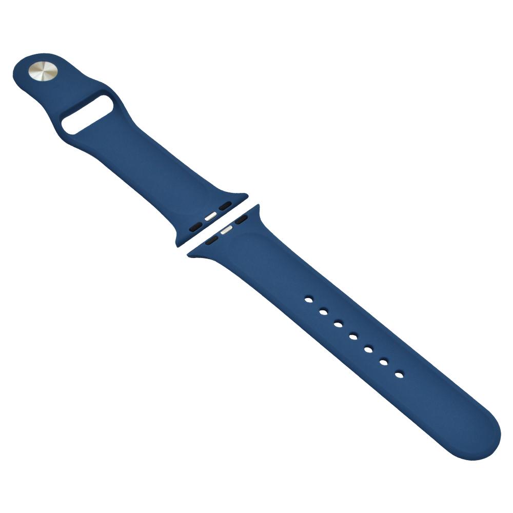 ラスタバナナ Apple Watch Series5 Series4 Series3 44mm 42mm シリコンベルト スタンダードタイプ BL アップルウォッチ バンド RBLAW4401BL