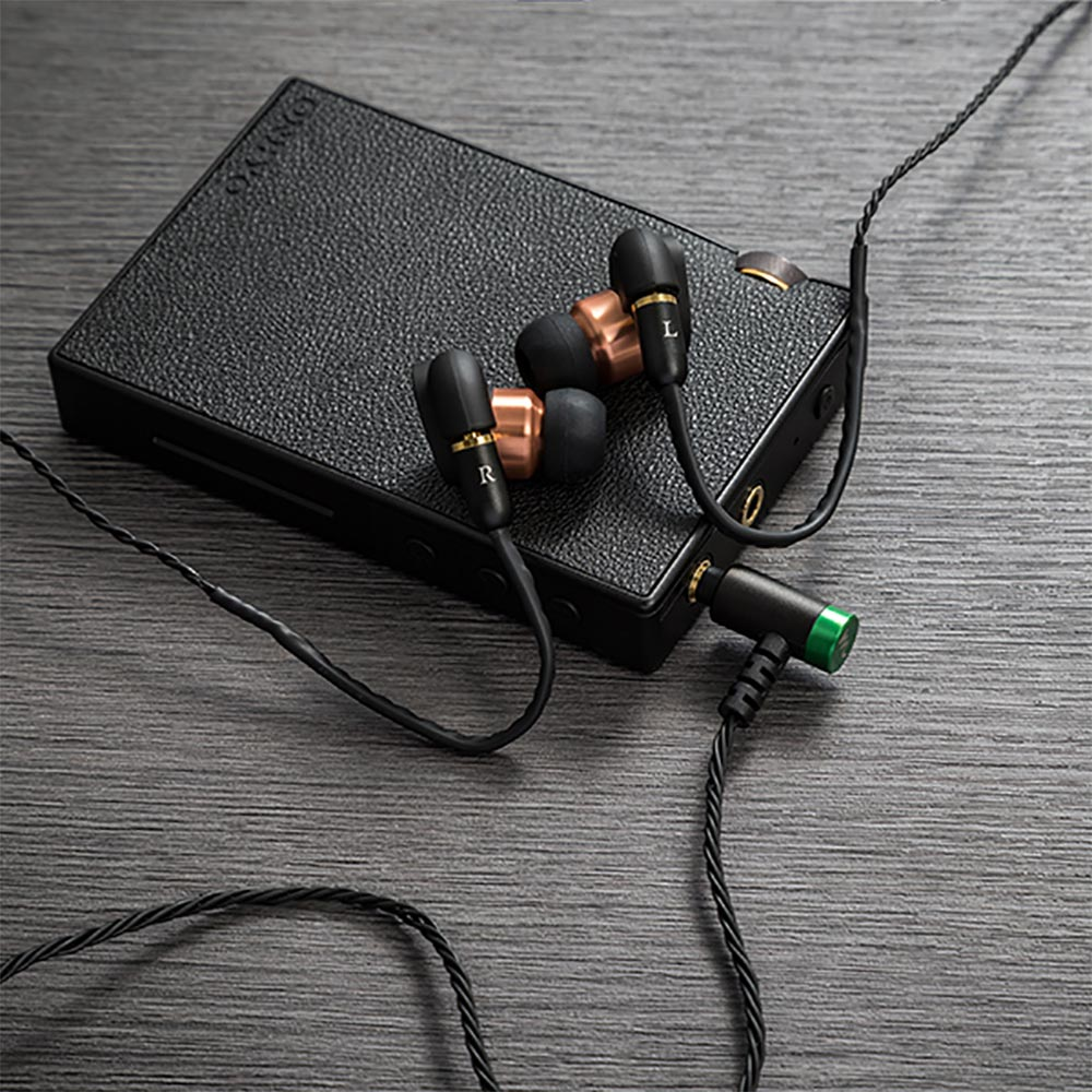 "High-Spec earphone cable  ""Cantabile"" for クラシック ハイスペック イヤホンケーブル 2.5mm 4極 バランスプラグ ブラック カンタービレ CP-25MMRC1/B"