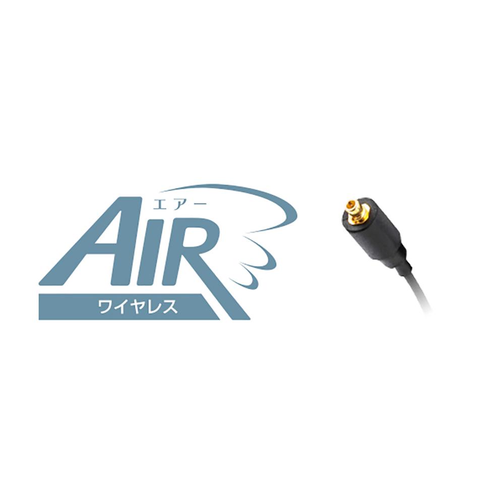 "Wireless earphone cable ""Air""for MMCX ワイヤレス イヤホンケーブル ブラック エアー CP-BTR-01/B"