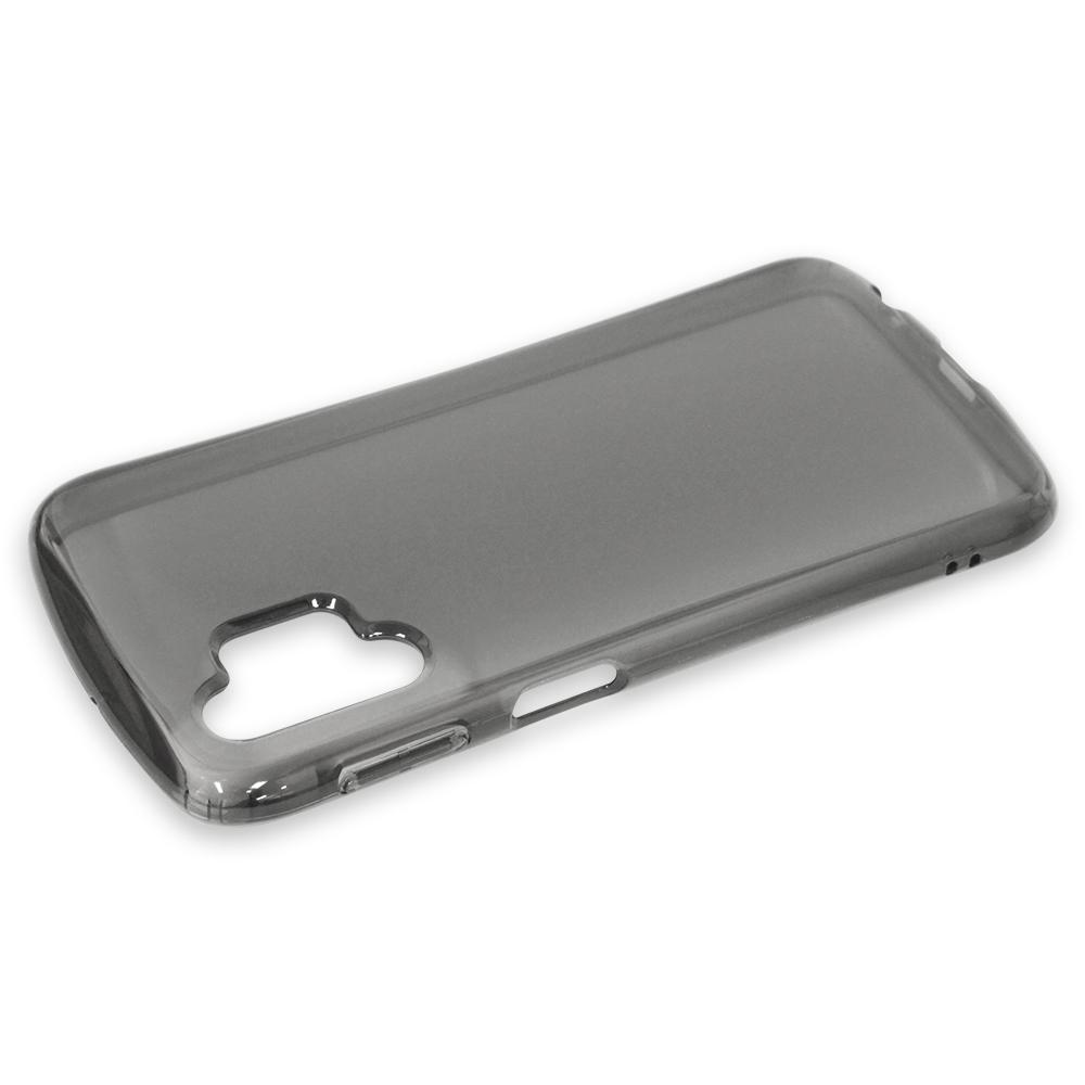 ラスタバナナ Galaxy A32 5G SCG08 ケース カバー ソフト TPU 2.7mm 耐衝撃吸収 クリアブラック ギャラクシーA32 5G スマホケース 6060GA32TP