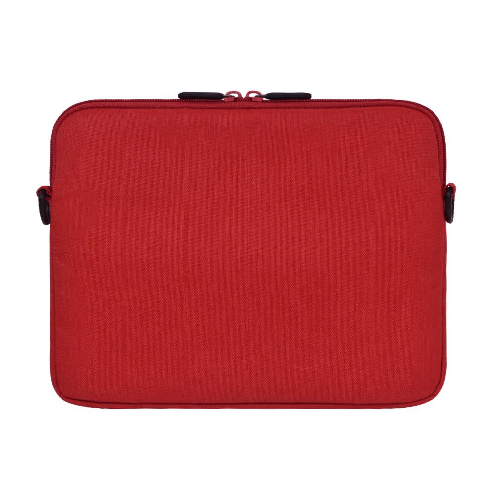 ラスタバナナ iPad 10.2インチ対応 タブレット汎用 ケース カバー ショルダー 衝撃吸収 手帳ケースごと収納できる GIGAスクール構想対応商品 レッド タブレットケース RFRTASD1001RD