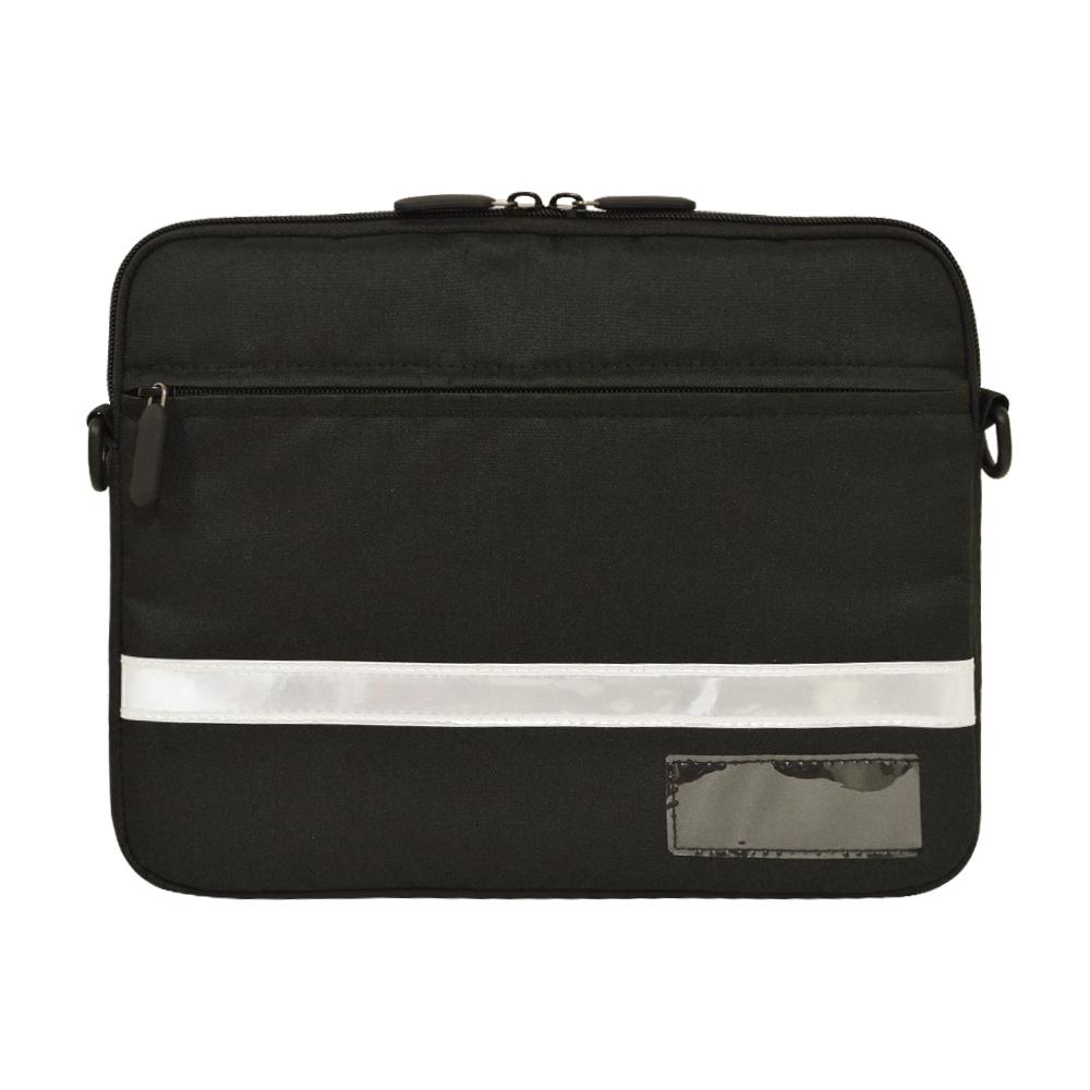 【まとめ買い】ラスタバナナ iPad 10.2インチ対応 タブレット汎用 ケース カバー ショルダー 衝撃吸収 手帳ケースごと収納できる GIGAスクール構想対応商品 ブラック タブレットケース RFRTASD1001BK