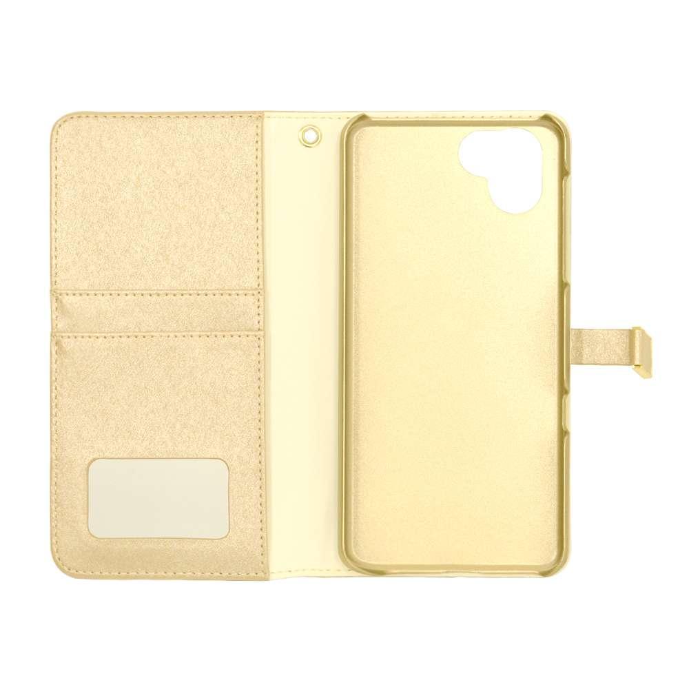 ラスタバナナ AQUOS R3 SH-04L SHV44 ケース/カバー 手帳型 viviana ゴールド アクオスR3 スマホケース 4789AQOR3BO