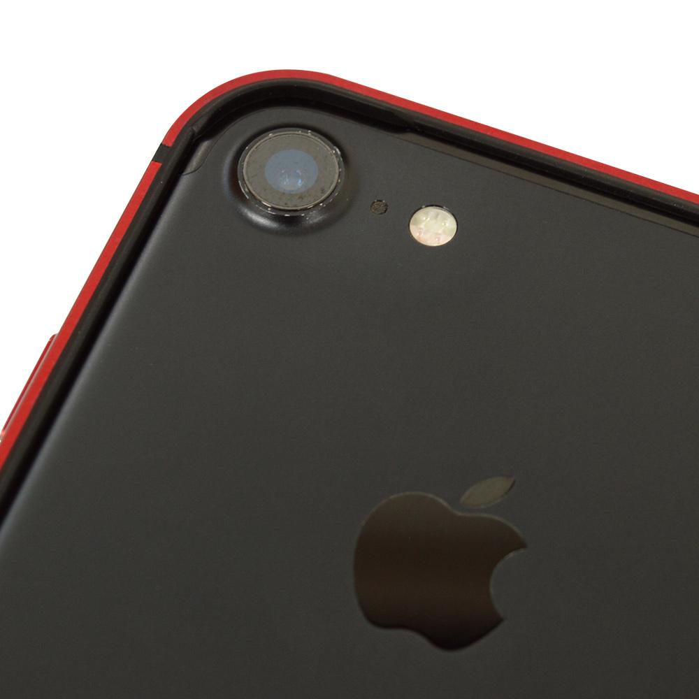 ラスタバナナ iPhone SE 第2世代 iPhone8 iPhone7 共用 ケース カバー バンパー アルミ+TPU シルバー アイフォン スマホケース 5985IP047HB
