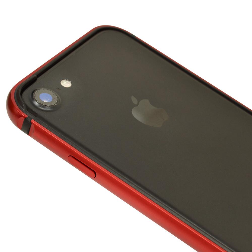 ラスタバナナ iPhone SE 第2世代 iPhone8 iPhone7 共用 ケース カバー バンパー アルミ+TPU ピンク アイフォン スマホケース 5986IP047HB