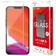 ラスタバナナ iPhone13 Pro Max ガラスフィルム 全面保護 高光沢 高透明 クリア 0.33mm 硬度10H アイフォン13 保護フィルム GP3102IP167