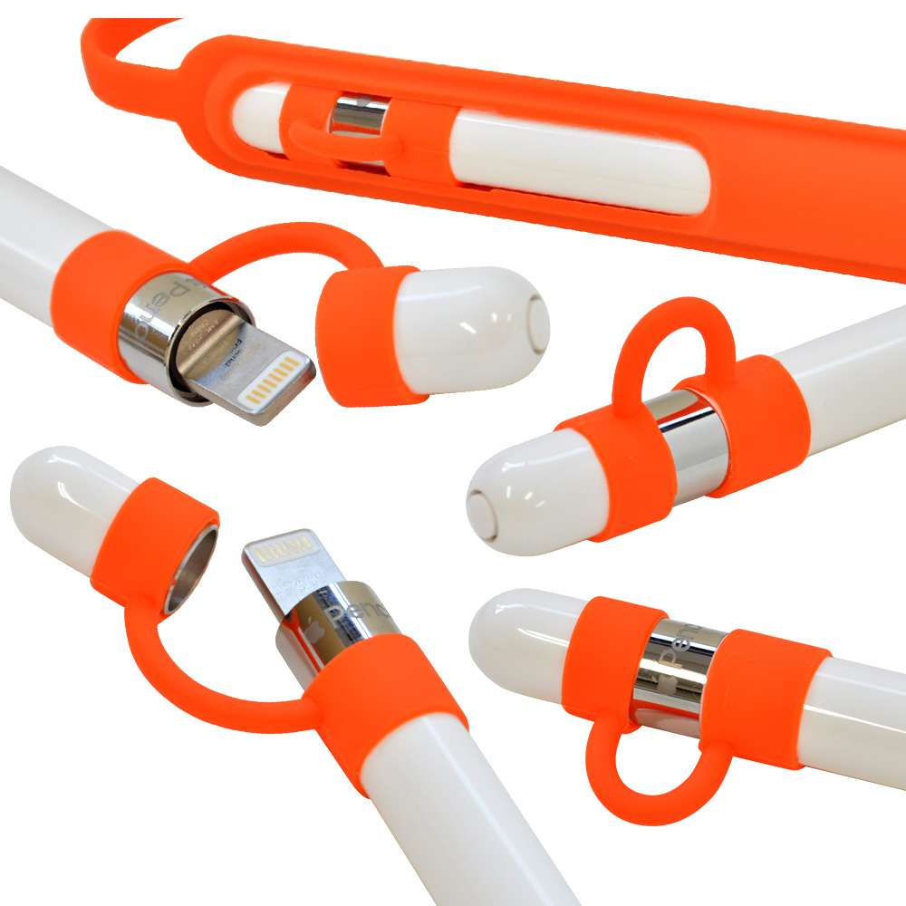 ラスタバナナ Apple Pencil ケース/カバー ソフト シリコン バンド付き キャップホルダー 第1世代/第2世代対応 マゼンタ アップルペンシル ケース RAPPESI00MA