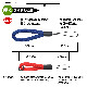 ラスタバナナ スマホ ガラケー対応 フィンガーストラップ 金属不使用 端末を傷つけない シンプル 柔らかい 丸ひもタイプ ダークレッド RSTFS00DRD