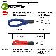 ラスタバナナ スマホ ガラケー対応 フィンガーストラップ 金属不使用 端末を傷つけない シンプル 柔らかい 丸ひもタイプ ブルー  RSTFS00BL