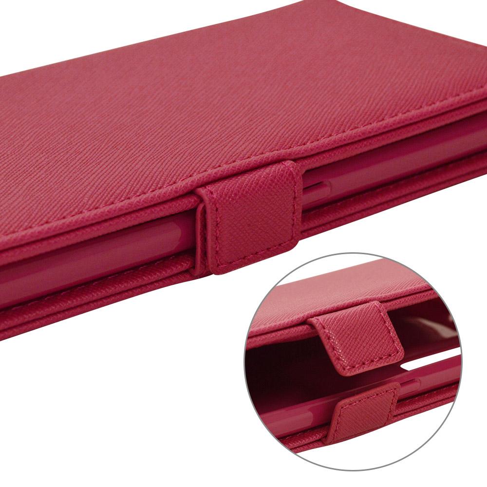 ラスタバナナ OPPO Reno5 A ケース カバー 手帳型 ハンドストラップ付き マゼンタ オッポ リノ スマホケース 6228RENO5ABO