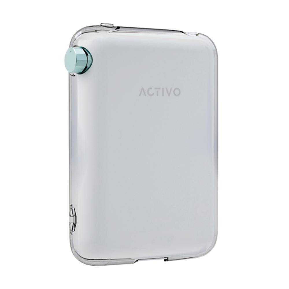 ACTIVO CT10 ケース/カバー ソフト ハイブリッド 液晶保護ガラス付き クリア アクティボ CP-CT10C1/C
