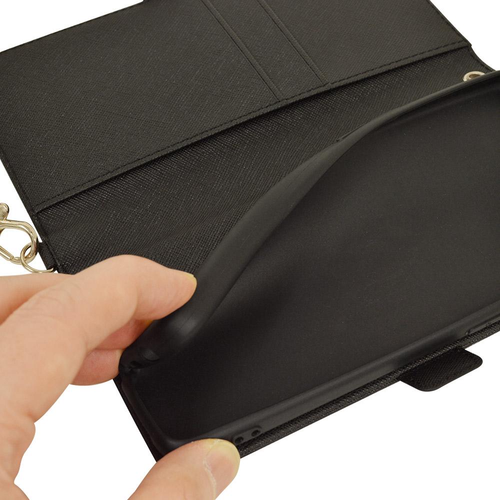 ラスタバナナ OPPO A73 ケース カバー 手帳型 ハンドストラップ付き マゼンタ オッポ スマホケース 6074A73BO