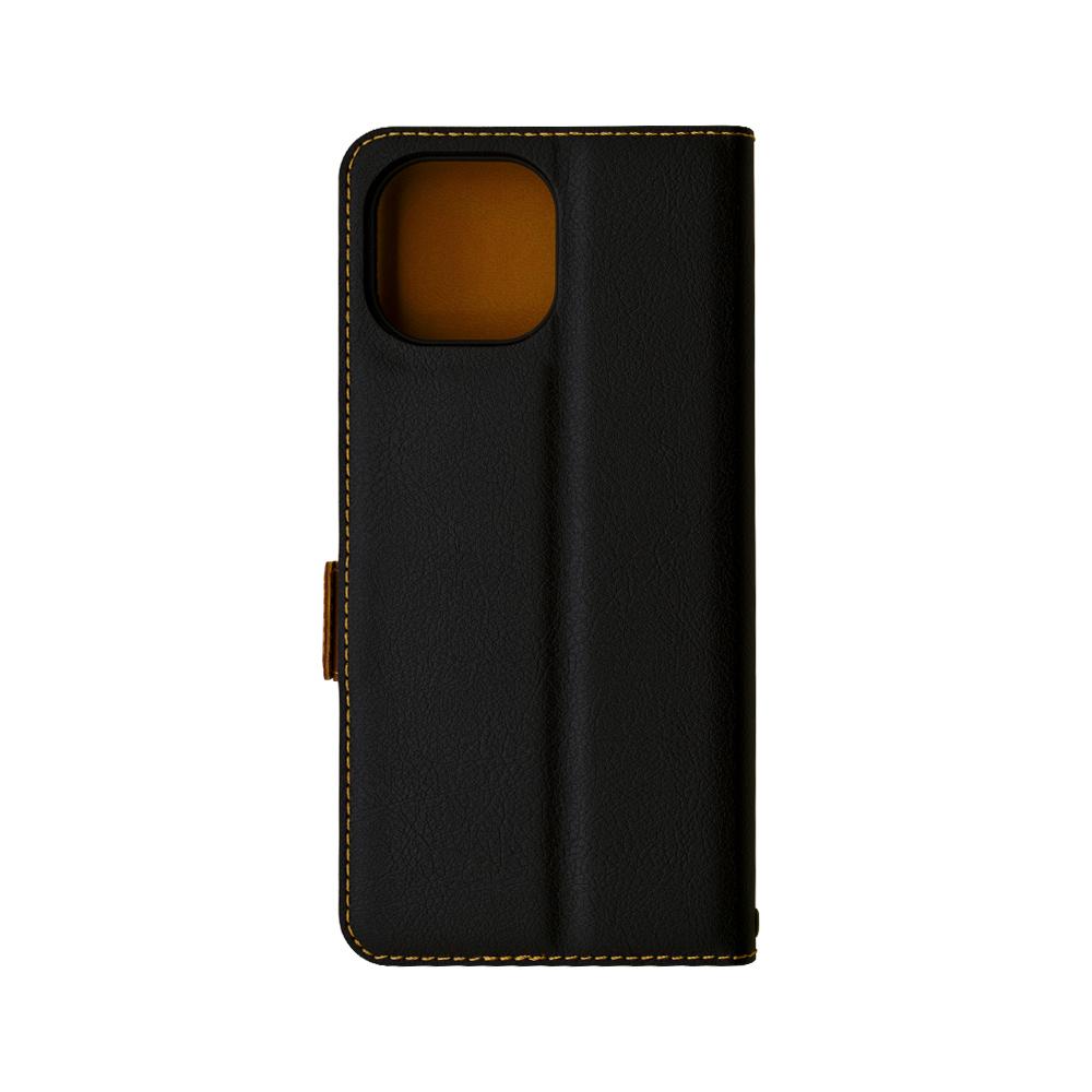 ラスタバナナ Xiaomi Mi 11 Lite 5G ケース カバー 手帳型 薄型 耐衝撃吸収 カード入れ おしゃれ スタンド機能 シンプル 大人 レディーズ メンズ +COLOR サイドマグネット BK×DBR シャオミ ミー11 ライト 5G スマホケース 6608MI11LBO