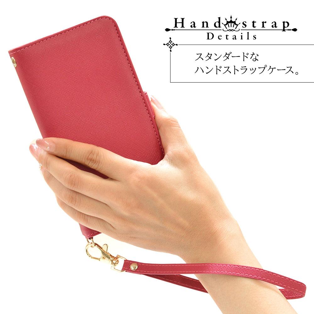 ラスタバナナ iPhone13 Pro Max ケース カバー 手帳型 カード入れ おしゃれ スタンド機能 シンプル 大人 レディース メンズ ハンドストラップ付き ネイビー アイフォン13 スマホケース 6580IP167BO