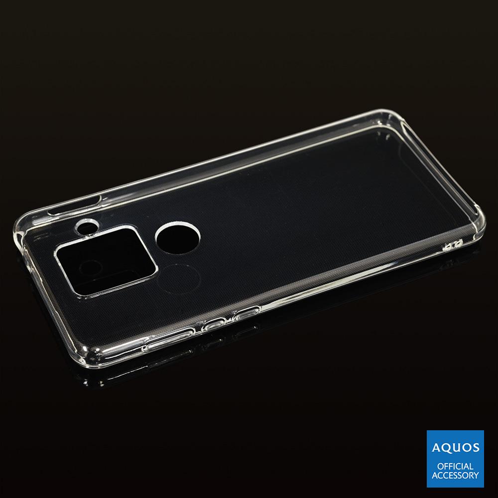 ラスタバナナ AQUOS sense4 plus ケース カバー ソフト TPU 1.2mm クリア アクオス センス4 プラス スマホケース 5866AQOS4PTP