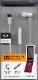 ラスタバナナ 携帯電話/スマホ用 microUSB 片耳タイプ モノラルイヤホンマイク 着信応答スイッチ付き ハンズフリー通話 ホワイト マイクロUSB REMMSM01WH