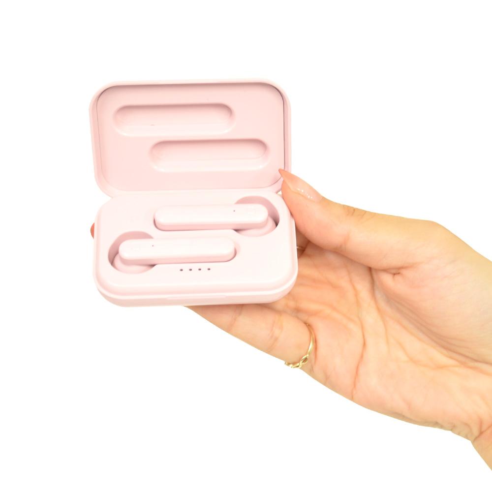 ラスタバナナ iPhone スマホ Bluetooth 5.0 完全ワイヤレス ステレオ イヤホン マイク インナーイヤー型 ブルートゥース 左右分離型 タッチセンサー 通話可能 ハンズフリー モカ RTWS01MC