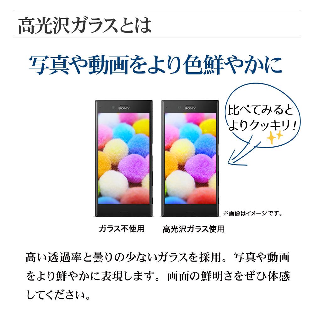WEB限定 QutoR 2枚組 iPhone13 mini ガラスフィルム 全面保護 高光沢 高透明 クリア 防埃 0.33mm 硬度10H 簡単貼り付けガイド アイフォン13 保護フィルム QTRIP154GP2