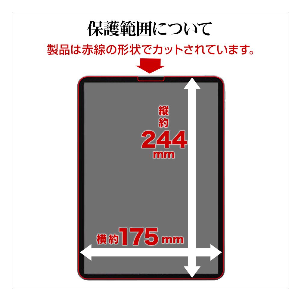 抗菌コート ラスタバナナ iPad Pro 11インチ 第1世代 (2018年発売)  第2世代 (2020年発売) フィルム  平面保護 反射防止 アンチグレア アイパッド プロ 液晶保護フィルム T2460IP2011