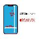 WEB限定 QutoR 2枚組 iPhone13 mini ガラスフィルム 全面保護 ブルーライトカット 高光沢 防埃 0.33mm 硬度10H 簡単貼り付けガイド アイフォン13 保護フィルム QTRIP154GE2