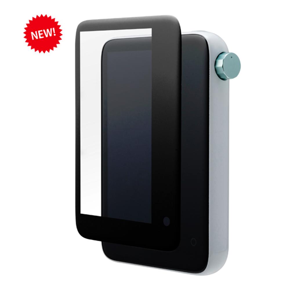 ACTIVO CT10 フィルム 曲面保護 強化ガラス 高光沢 3Dソフトフレーム 角割れしない ブラック アクティボ 液晶保護フィルム CP-CT10GF